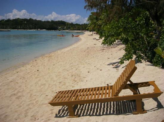 แพลนเทชั่นไอซ์แลนด์รีสอร์ท: Beach and it was fully booked this week