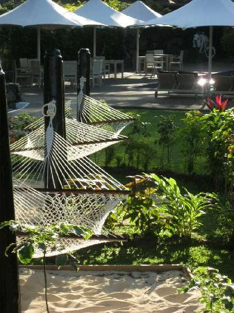 Novotel Nadi: Hammocks, good practice for the islands