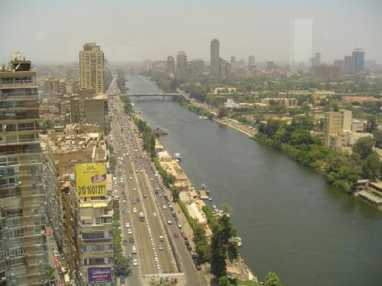 Sheraton Cairo Hotel & Casino: View from the hotel