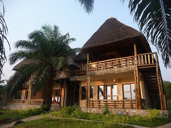 Tanganyika Blue Bay Resort : Each bungalow has two appartments