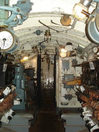 Submarine Vesikko : Innenbereich