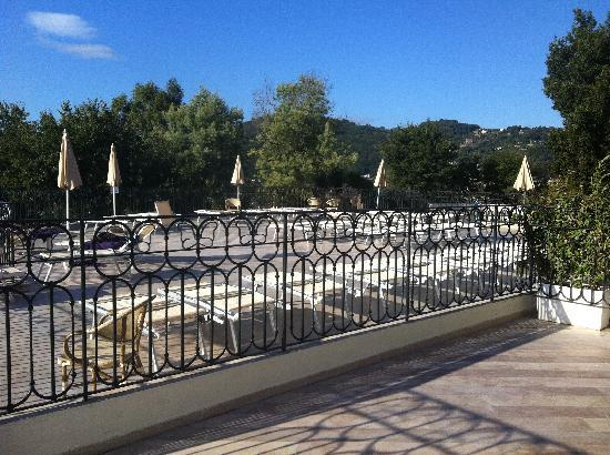 Grand Hotel Nastro Azzurro & Occhio Marino Resort: The view from our room
