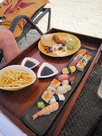 Jumeirah Zabeel Saray: Lunch on the beach