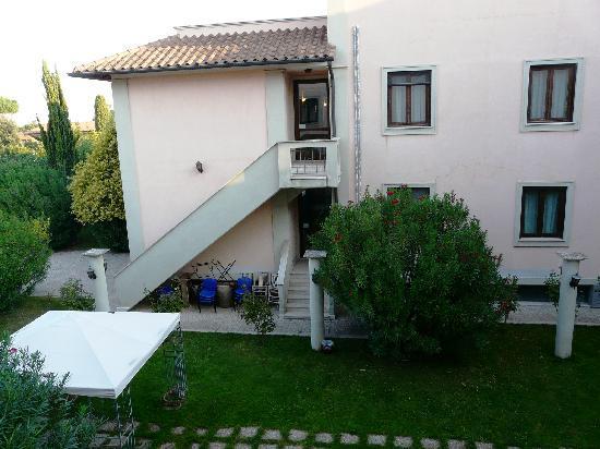 Alba Hotel Torre Maura: garden