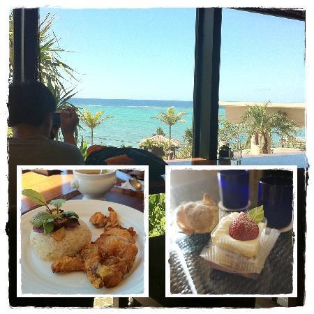 คาฟู รีสอร์ท ฟุชาคุ คอนโด โฮเต็ล: Deli Cafe inside hotel, light lunch and cake from there