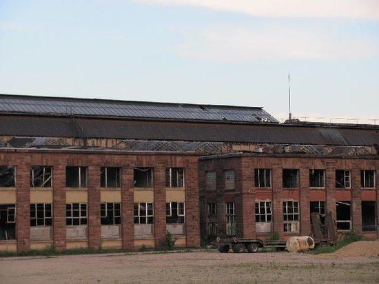 Lokrichthalle ehem. Eisenbahnausbesserungswerk