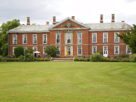 Market Bosworth, UK: rear view of main building