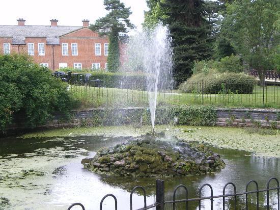 Market Bosworth, UK: garden