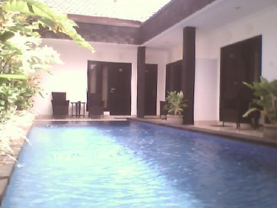 swimming pool's Legian Guest House