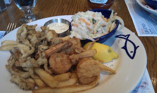Legal Sea Foods: fisherman trio