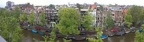 Prinsengracht Hotel: Vista desde la habitacion