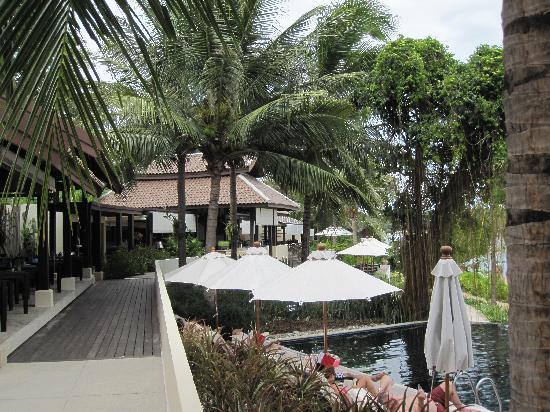 อนันตรา ลาวาน่า รีสอร์ท แอนด์ สปา: Blick auf das OceanKiss Restaurant