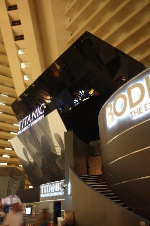Titanic: The Artifact Exhibition: Eingang zur Ausstellung