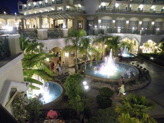 Lindos Princess Beach Hotel: Evening view