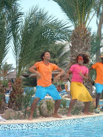 Fiesta Beach Club Djerba: l'ambiance par DALI et RAFRAF