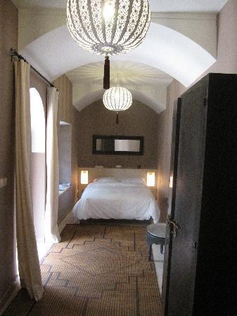 Riad Azza : notre chambre