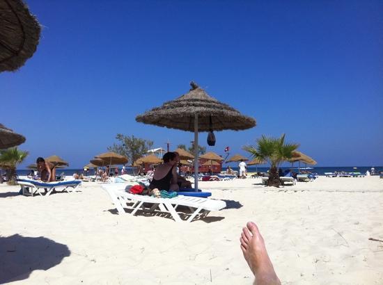 Sahara Beach Aquapark Resort: beach