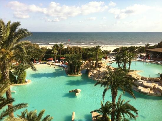 Sahara Beach Aquapark Resort: view from our room