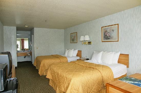 Days Inn & Suites Arcata: Unser Zimmer