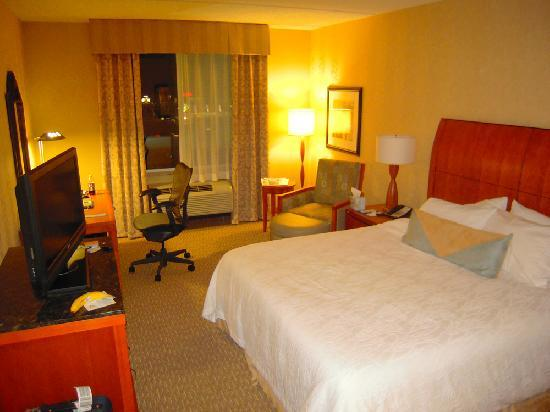 Hilton Garden Inn Lakewood: Comfy chair to sit and work or watch TV