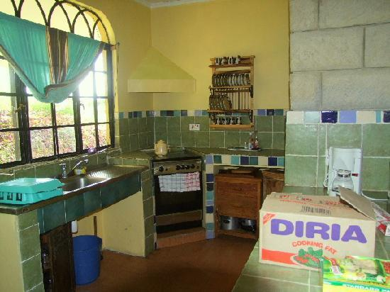 Kembu Cottages: Comprehensive Kitchen area if you wish to DIY.