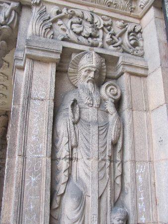 St. Martin: side statue