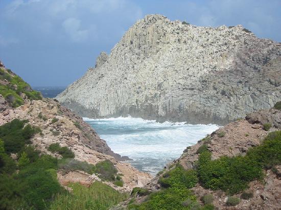 Province of Carbonia-Iglesias, Italie : Cala Fico sotto il maestrale