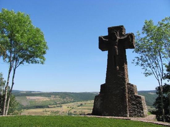 La Sarre, Allemagne : latge crusifix