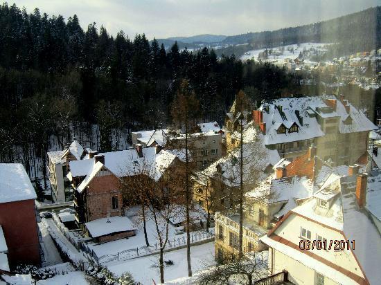 Czerwony Dwor: View from the window
