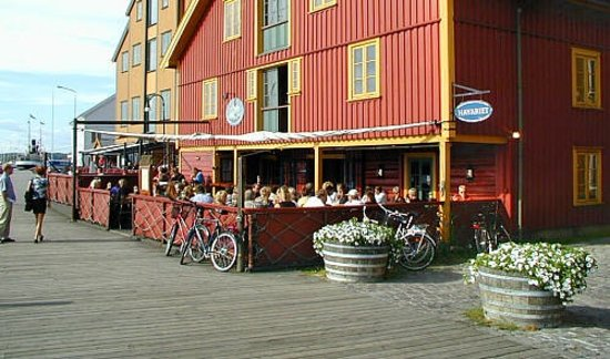 havariet by the harbor of Tønsberg