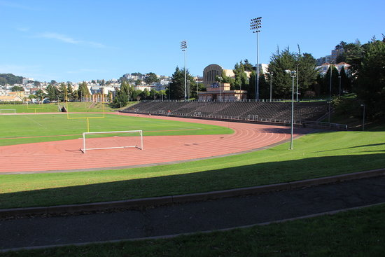 Kezar Stadium: The 49ers and Raiders both played on that field.