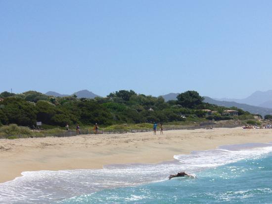 Hotel le Ruesco : la plage