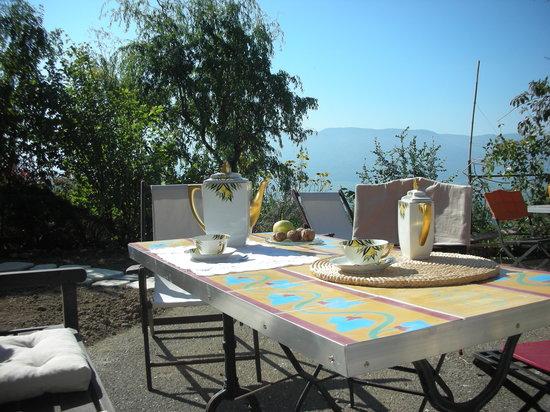 La Maison de Martine: La terrasse