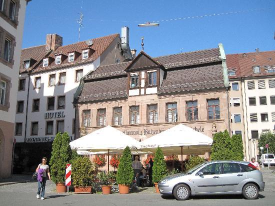 Steichele, Hotel Restaurant Weinstube: Steichele outside