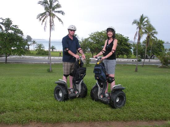 Nassau Segway Beach and Waterfront Tour: Segway Cruisers