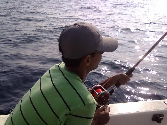 Barracuda Bay Sport Fishing : during action