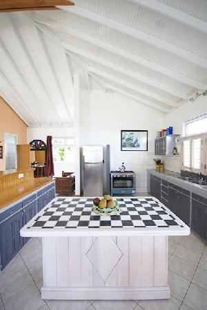 Sisserou Villa, Lodge & Cottage: Sisserou Villa Kitchen