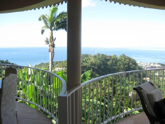 Sisserou Villa, Lodge & Cottage: View