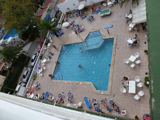 HSM Reina del Mar: View from our balcony at 5th floor.