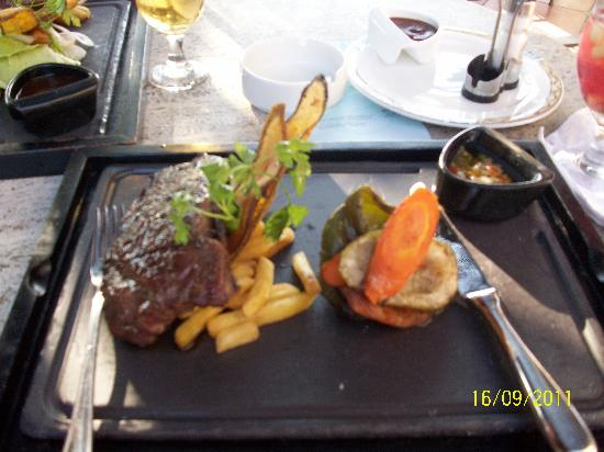 Iberostar Parque Central: meal on upstairs terrace