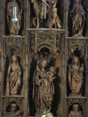 Pfarrkirche St. Martin: detail