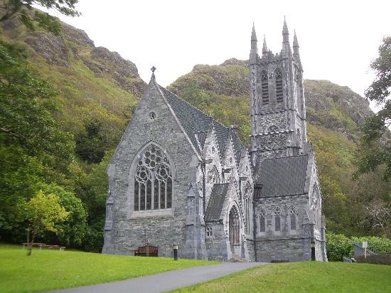 Kylemore Abbey & Victorian Walled Garden: The church
