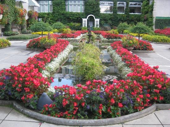 Central Saanich, Canadá: italian garden