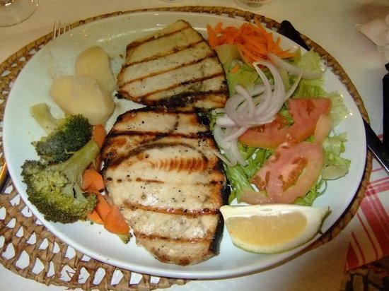 Netto's: Swordfish was great.