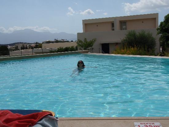Mirabello Beach & Village Hotel: Private Pool