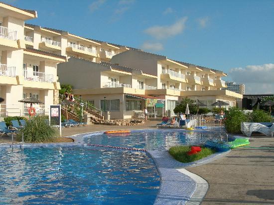 HSM Calas Park: hotel pool area