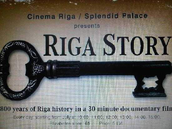 Splendid Palace: Picture of the movie poster Riga Story