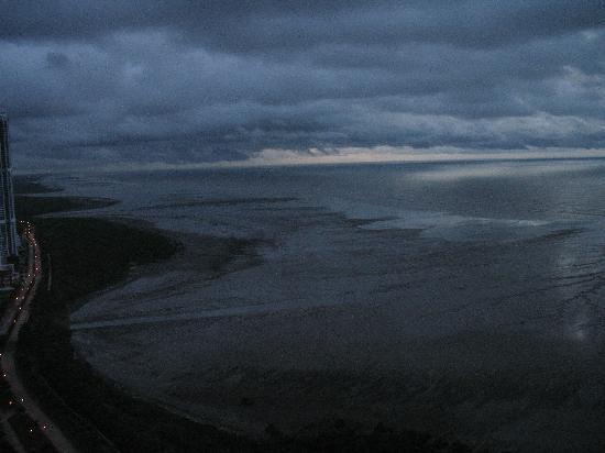 Costa del Este: Vista al Pacifico.