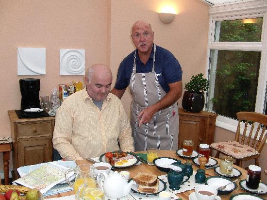 Birling House B & B: Frühstück
