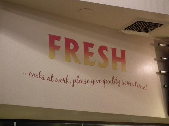 Fresh Grill and Bar: Fresh